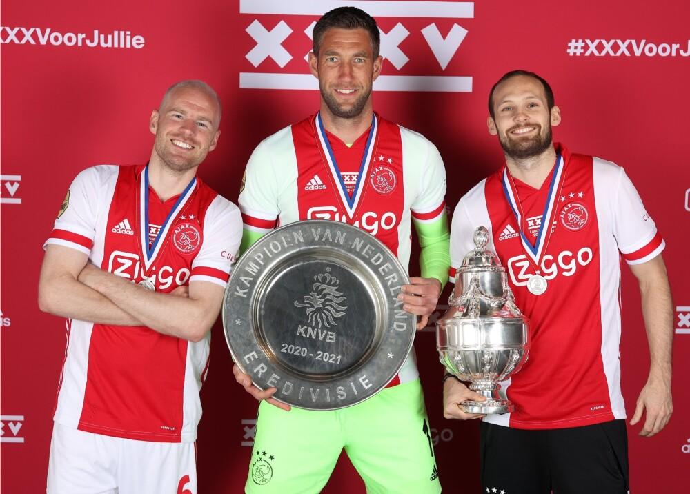 Ajax campeón 2021 FotoTwitter.