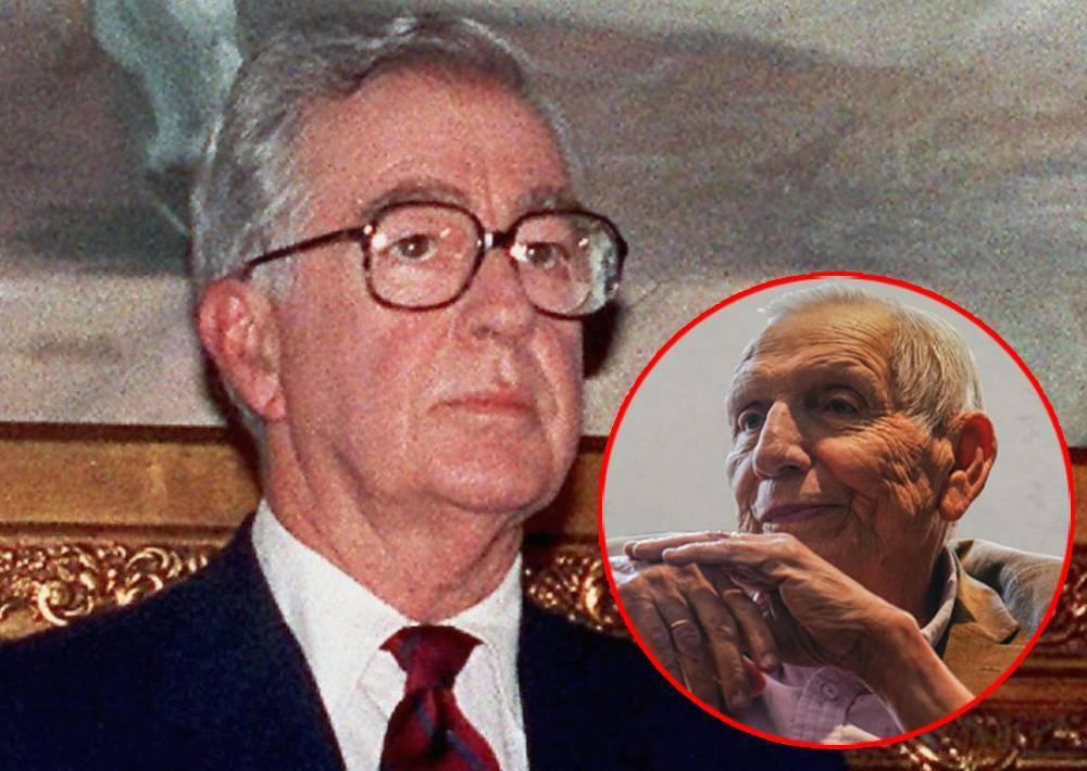 El expresidente Virgilio Barco y el exministro de Defensa general (r) Rafael Samudio Molina