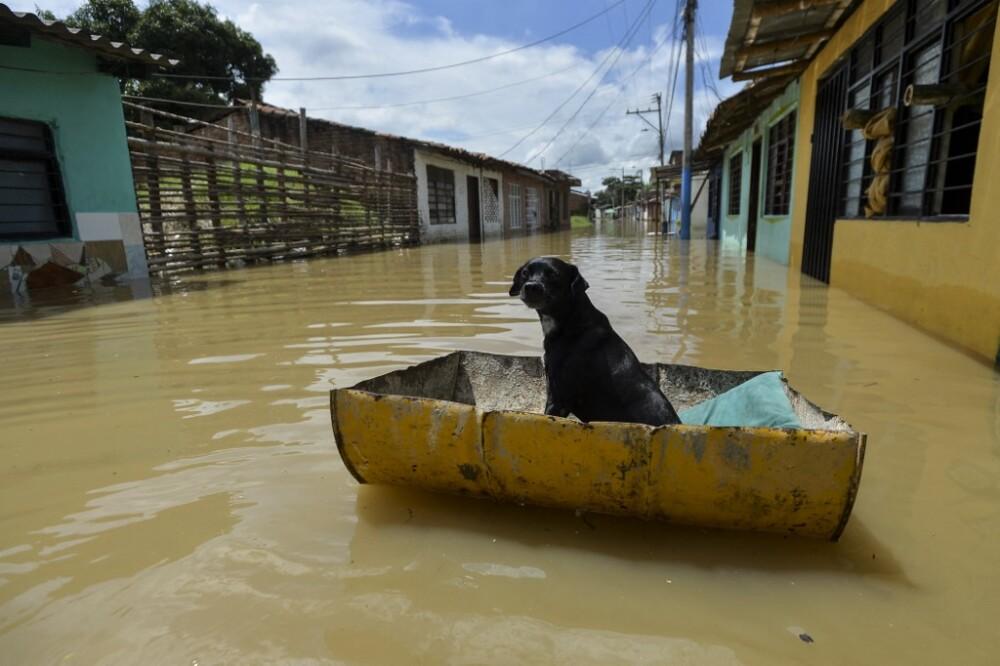 Inundación en Colombia