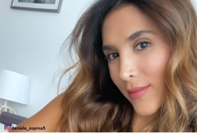 Daniela Ospina se toma con gracia comentario de seguidor.