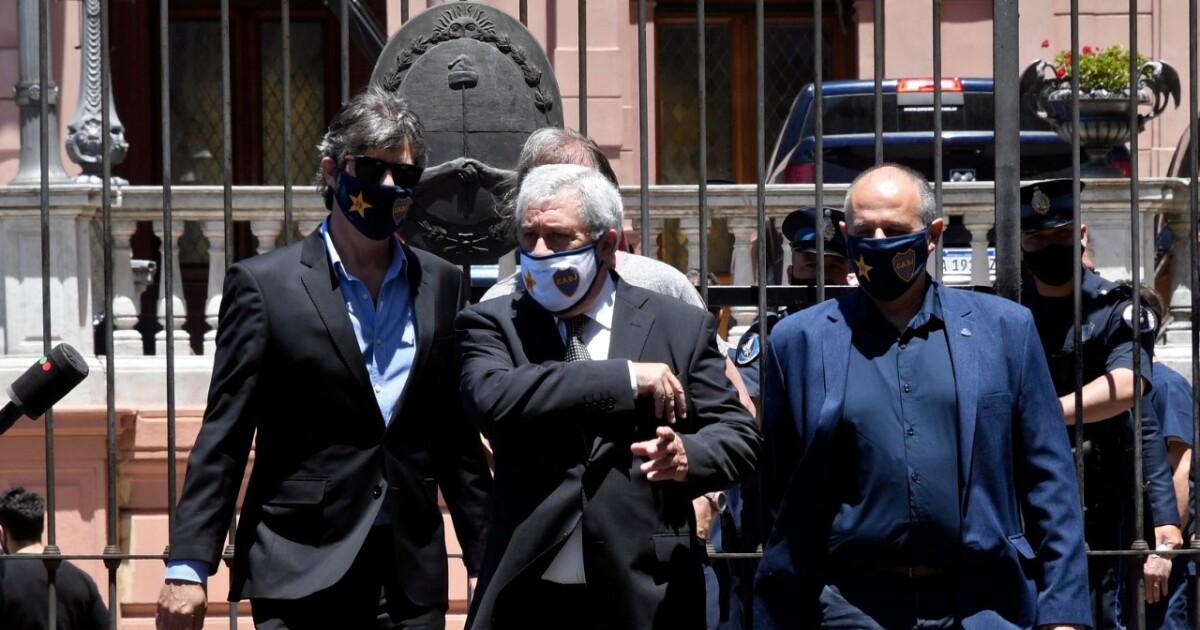 Preocupación en Boca Juniors por el coronavirus de su presidente: hospitalizado, de urgencia