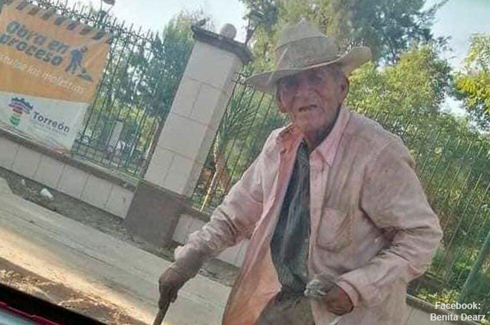 Adoptó a adulto de 108 años