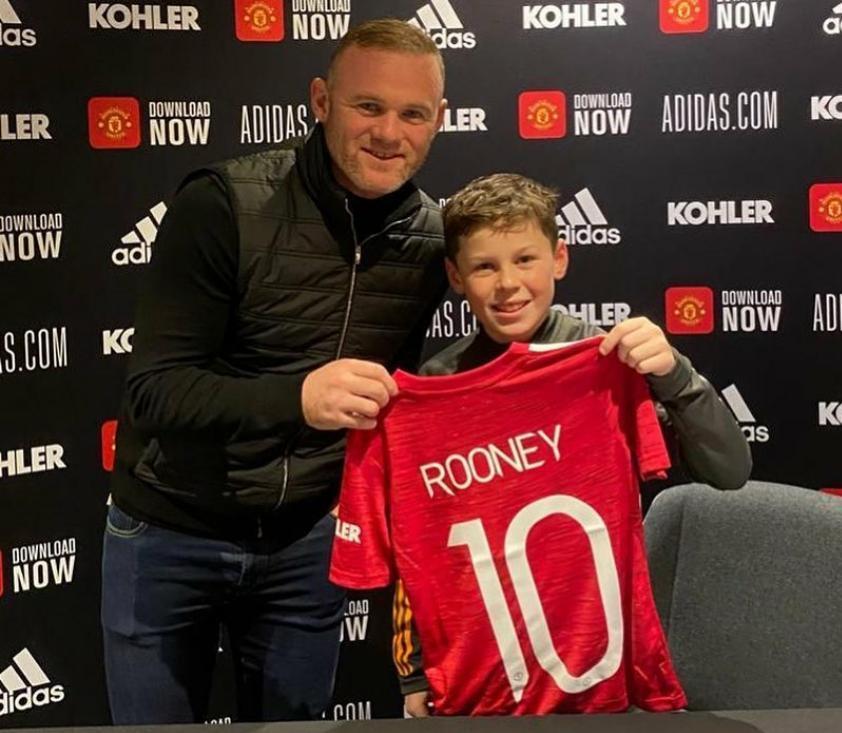 Wayne Rooney y su hijo Kai foto instagram.jpeg