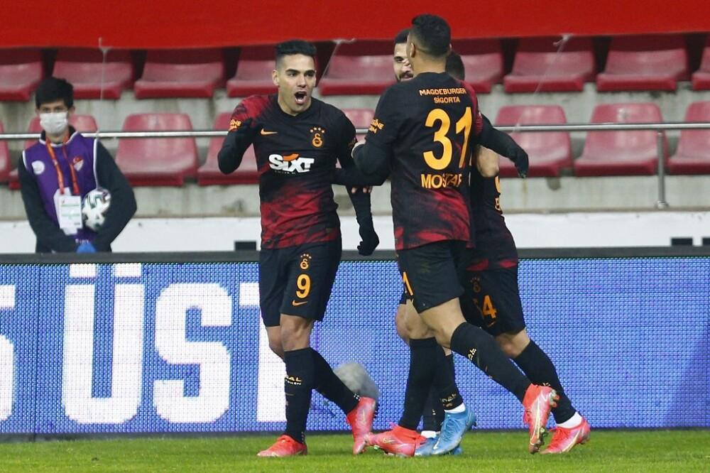 Falcao García, jugador de Galatasaray