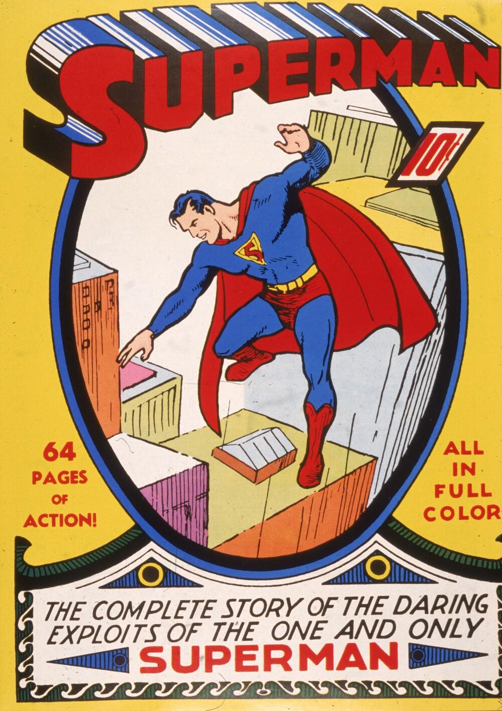 'Superman' Comic Book Cover