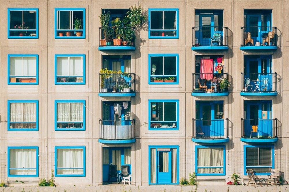 ventanas de apartamentos