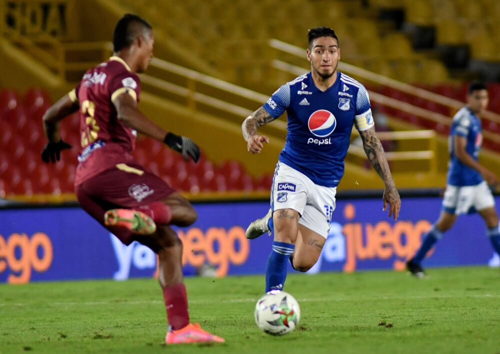 Cristian Arango, jugador de Millonarios. Dimayor.jpeg