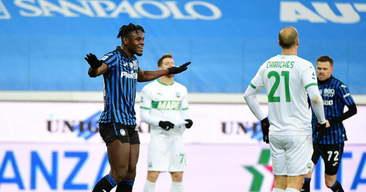 Atalanta confía en Duván Zapata: será titular para enfrentar a Milan, líder de la Serie A