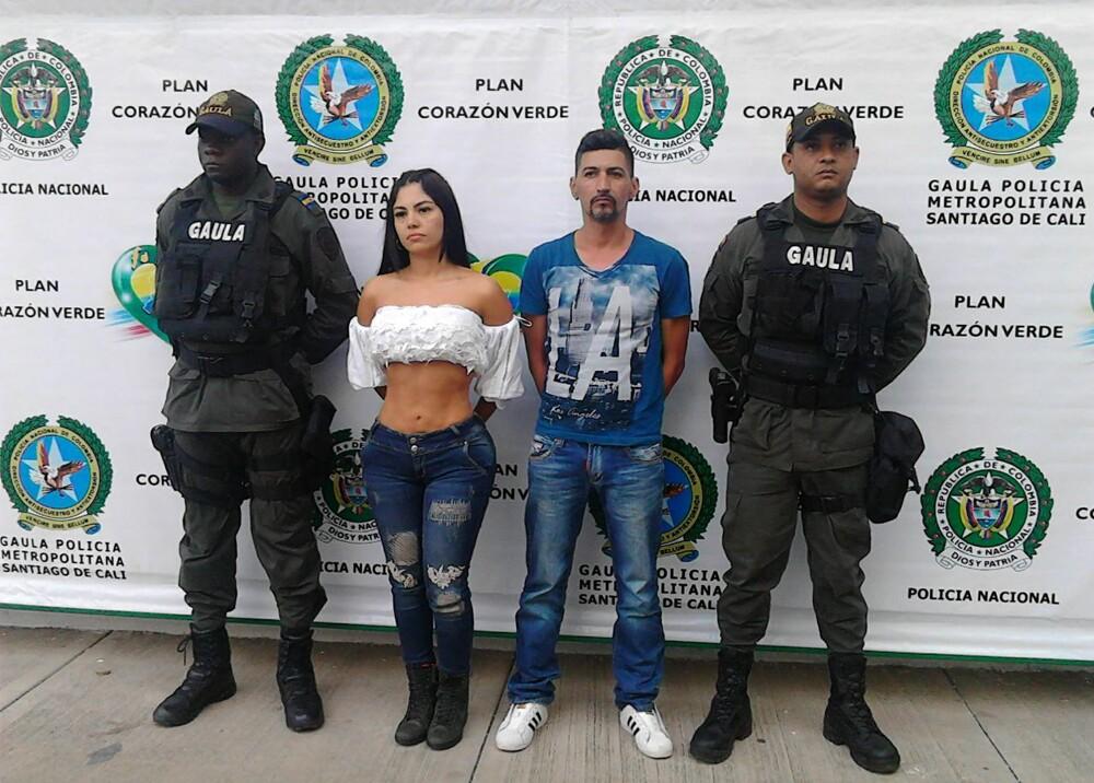 285853_Blu Radio / Capturan a modelo y presentadora de un canal local de televisión de Cali / Foto: Cortesía Policía
