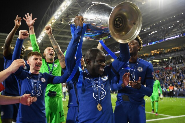 N'Golo Kanté fue elegido como el mejor jugador de la final de la Champions League
