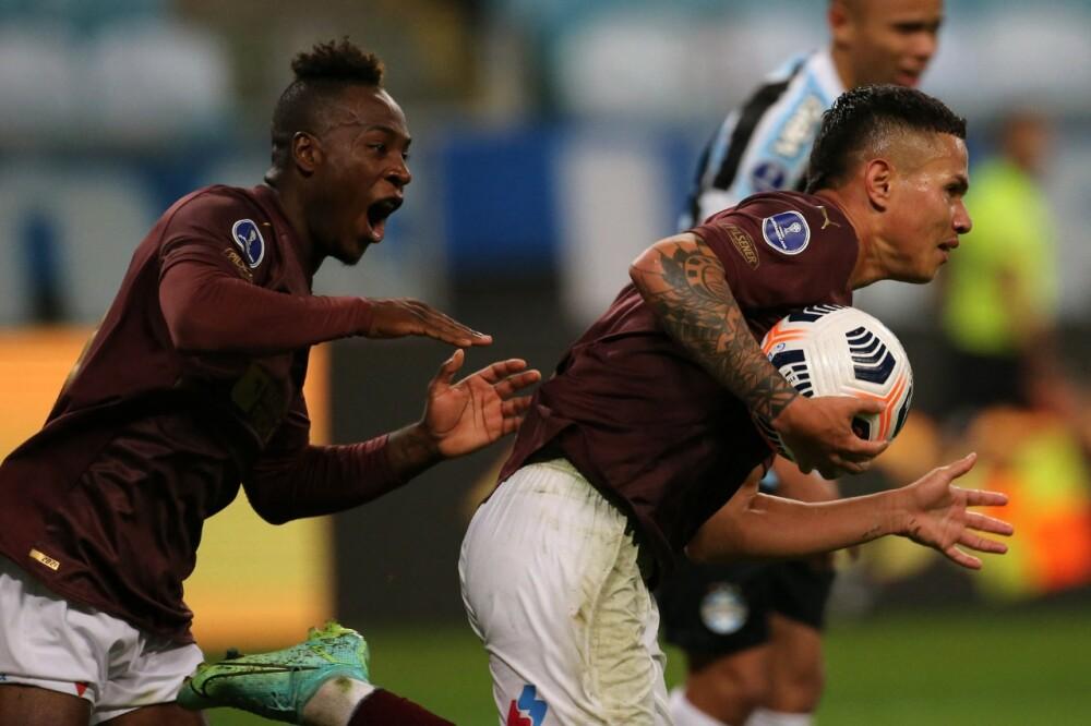Liga de Quito Gremio AFP.