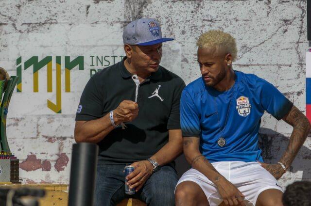 317085_Neymar Jr. y su padre Neymar Santos