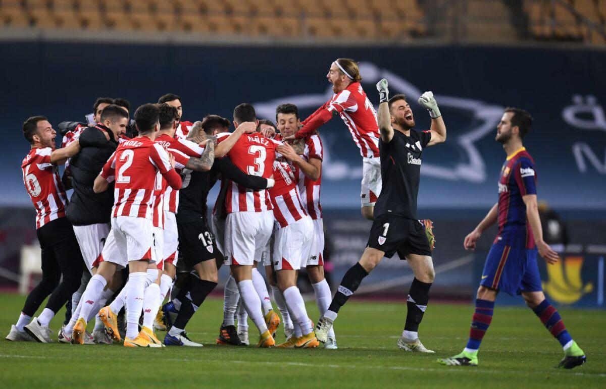 Partidazo! Athletic Bilbao lo ganó en la prórroga 3-2 a Barcelona y se  quedó con la Supercopa