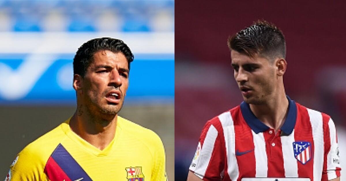 Luis Suárez al Atlético de Madrid y Álvaro Morata a la Juventus: ese es el plan para los delanteros