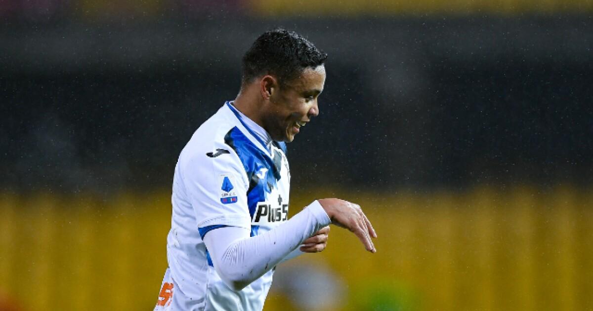 Luis Fernando Muriel, qué goleador: lleva cinco partidos consecutivos marcando para Atalanta