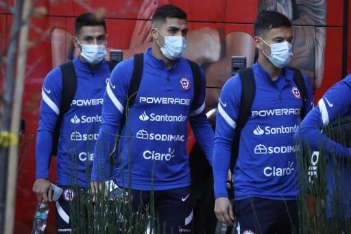 Jugadores de la Selección de Chile