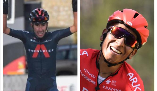 Iván Sosa y Nairo Quintana fueron los dos últimos ganadores en Mont Ventoux/Chalet Reynard.