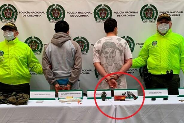 Tres capturados en operativos contra las bandas Niquía Camacol y Pachelly, en Bello.