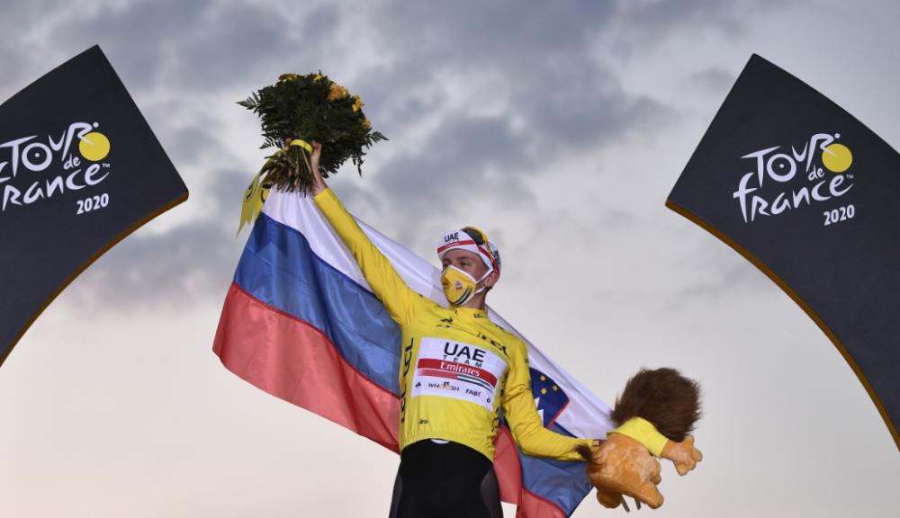 Tadej Pogacar, líder del Tour de Francia 2020