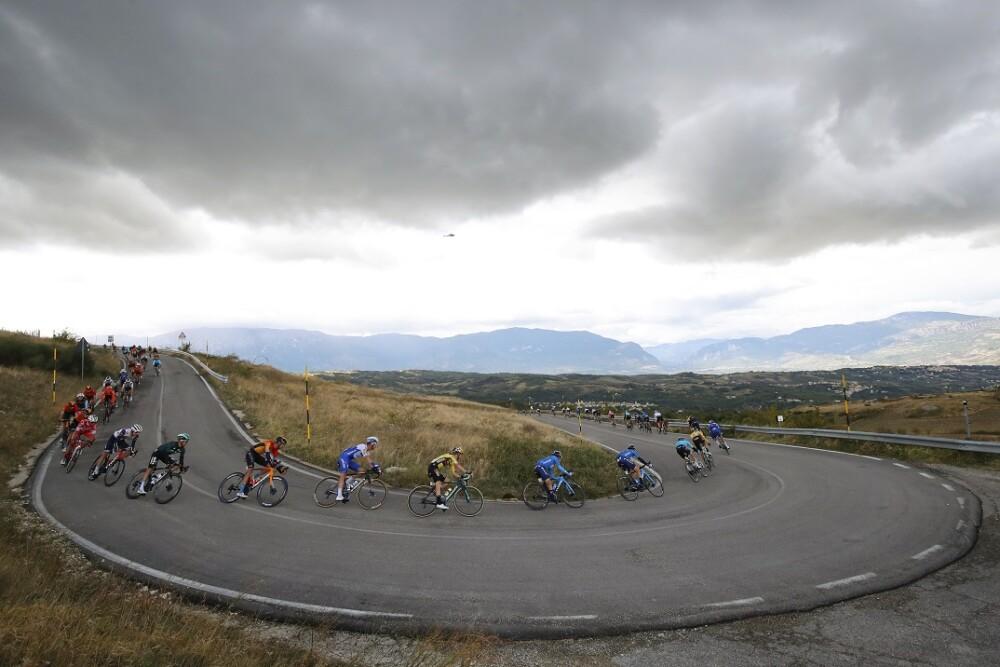 Giro de Italia. Foto: AFP