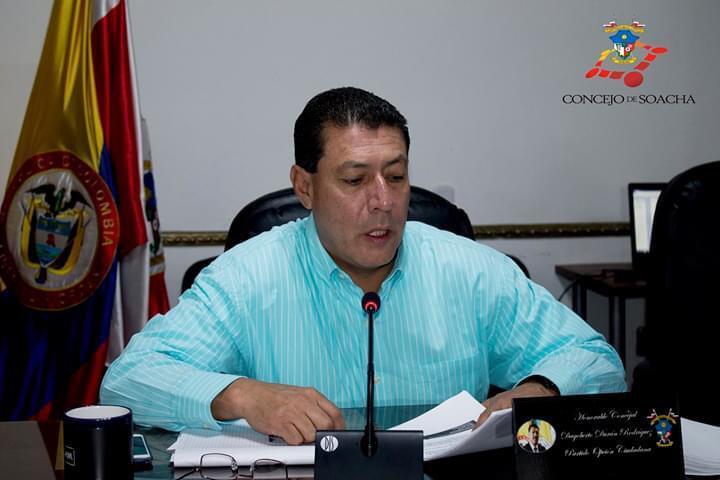371911_Exconcejal Dagoberto Durán / Foto: Concejo de Soacha