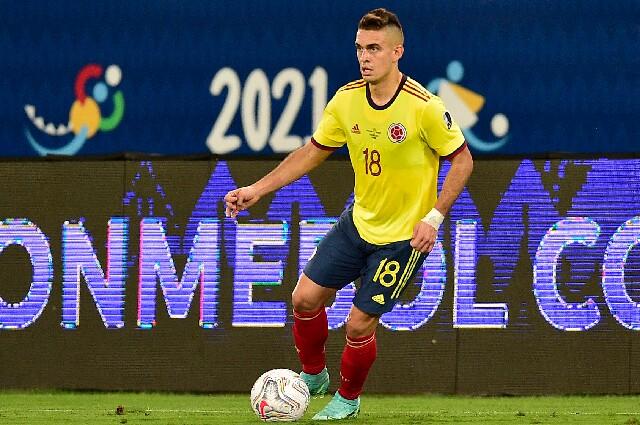 Rafael Santos Borré, en la Selección Colombia