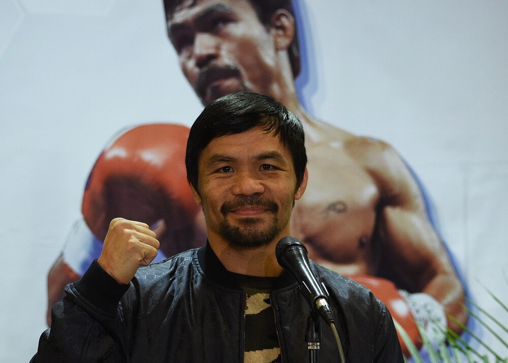 330571_BLU Radio, Manny Pacquiao / Foto: AFP