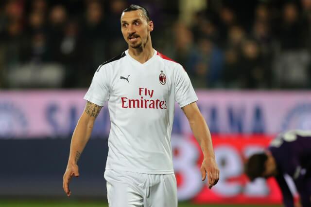 333118_Zlatan Ibrahimovic, delantero Milan.