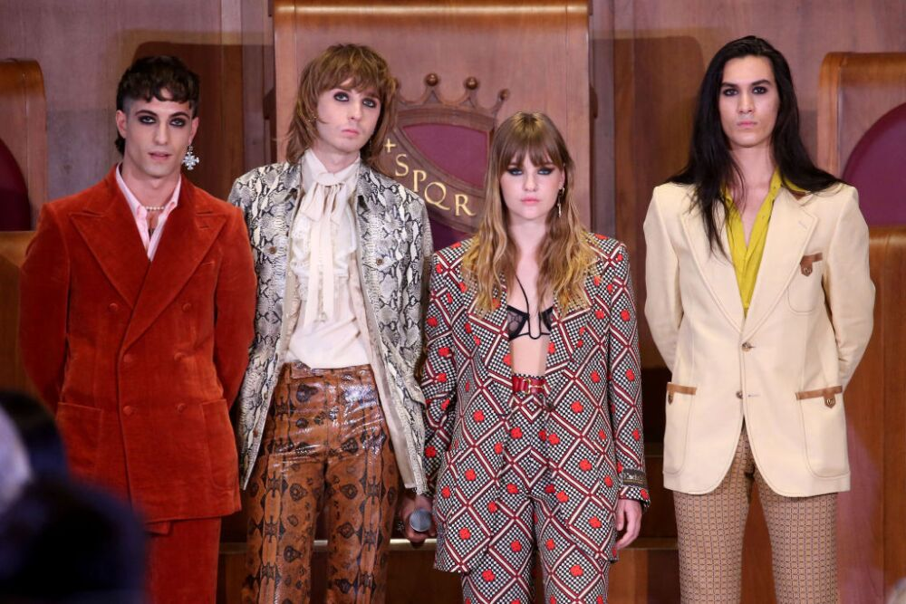 """Maneskin Are Honoured With The """"Lupa Capitolina"""""""