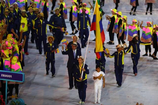 Abanderados de los Juegos Olímpicos