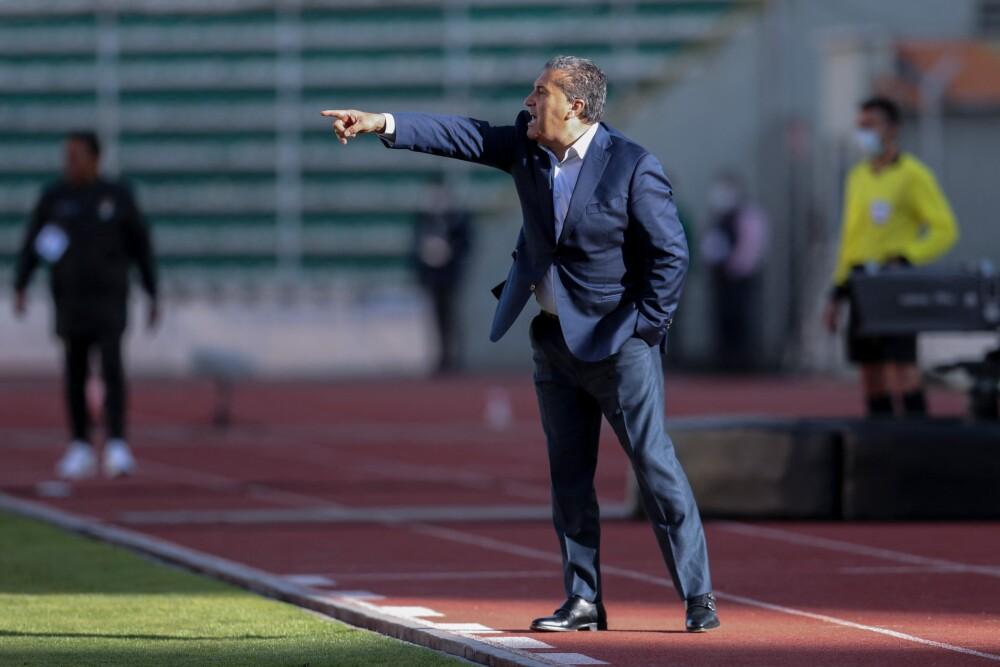 José Peseiro, técnico de la Selección de Venezuela. AFP.jpg