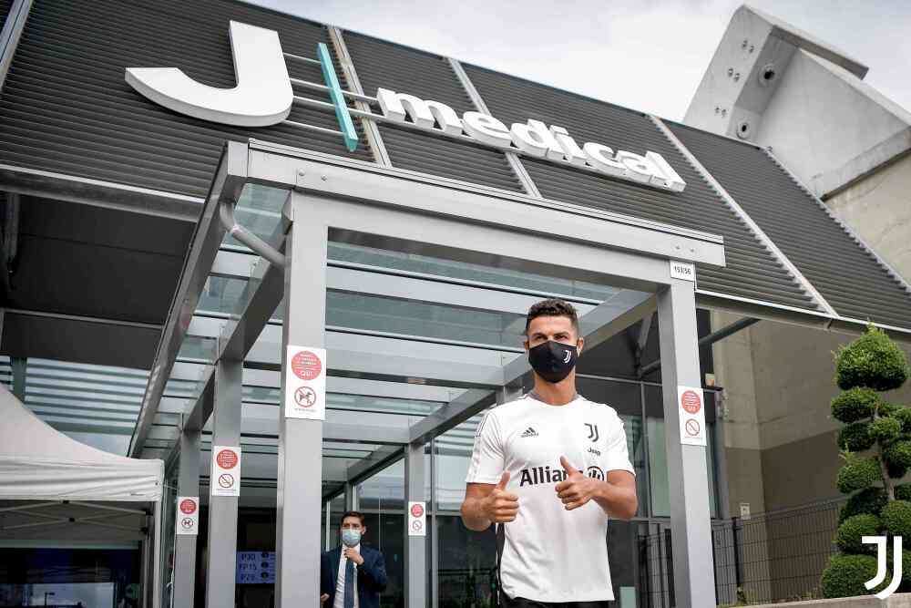 Cristiano Ronaldo, jugador de Juventus. @juventusfc.jpg