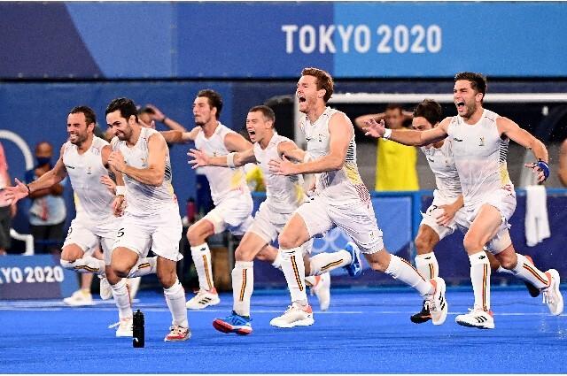 Equipo de Bélgica de hockey en los Juegos Olímpicos de Tokio 2020