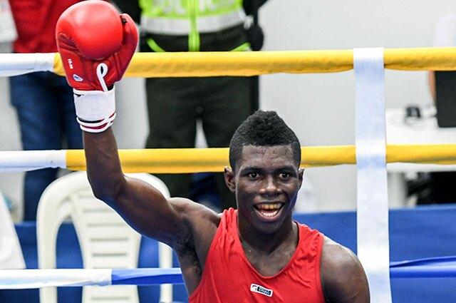 Yuberjen Martínez es uno de los cinco boxeadores colombianos que tendrían cupo a los Juegos Olímpicos de Tokio.