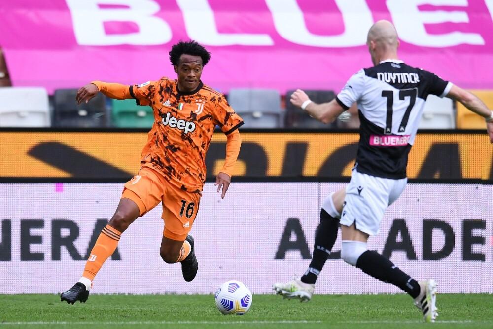 Juan Guillermo Cuadrado Juventus Udinese 020521 Getty Images E.jpg