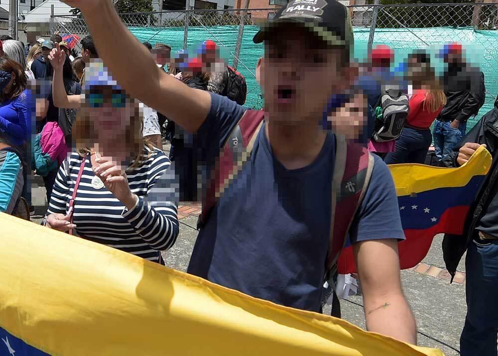 336153_Blu Radio // Venezolanos // Foto: AFP, Imagen de referencia