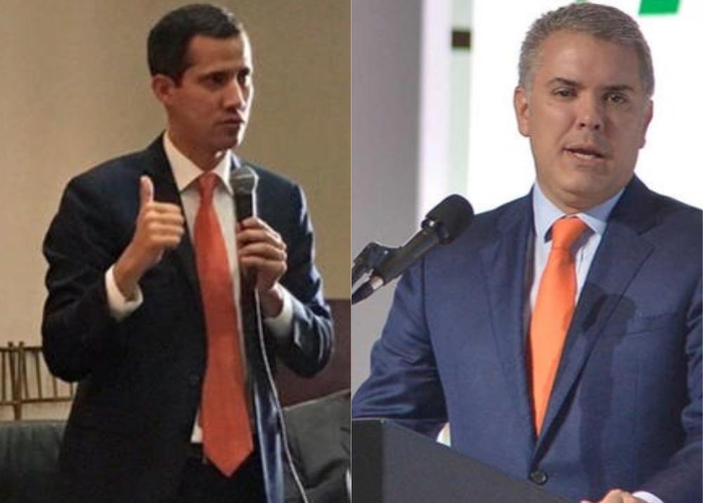 325647_BLU Radio, Guaidó y Duque / Fotos: Twitter Guaidó y Presidencia
