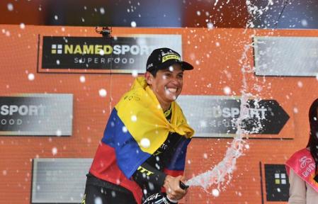Esteban Chaves representará a Colombia en los Juegos Olímpicos de Tokio 2020.