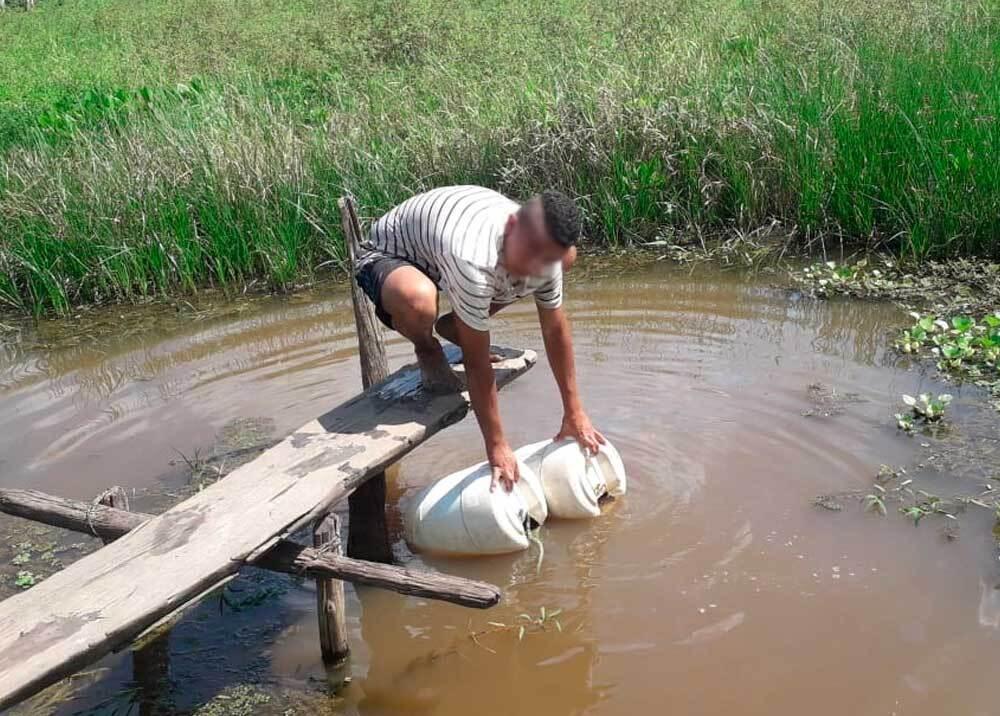 333155_BLU Radio // Habitantes de Chinoblas sufren por falta de agua // Foto: BLU Radio