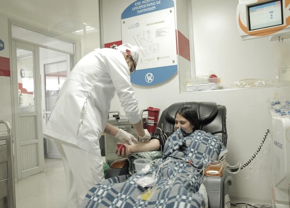 350242_BLU Radio. Donación sangre Hospital Universitario de Santander / Foto: HUS
