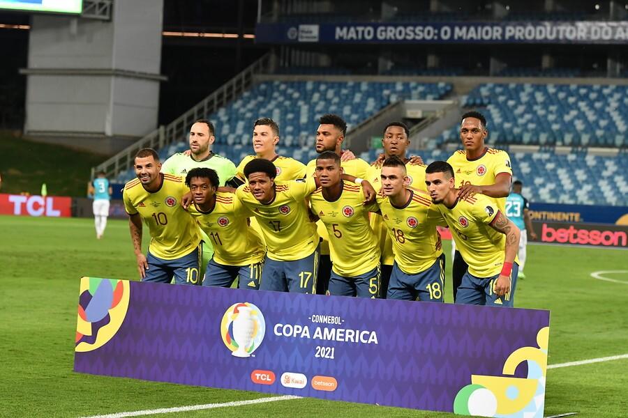 Selección Colombia formada