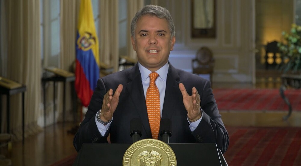 334392_BLU Radio. Iván Duque // Foto: Presidencia