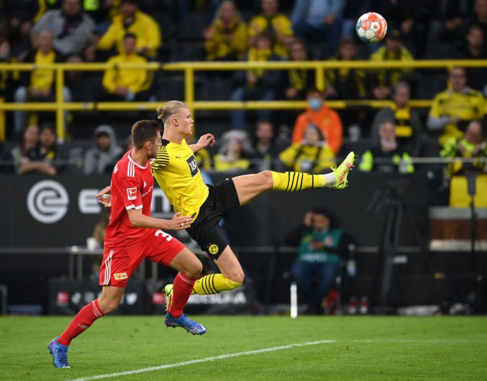 Haaland gol Dortmund Union Berlin