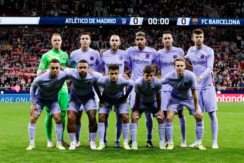 Jugadores de Barcelona