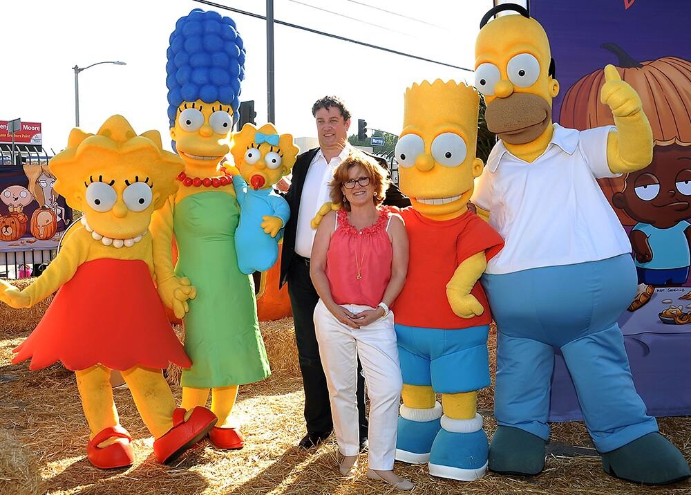 349748_BLU Radio // Los Simpson // Foto: AFP