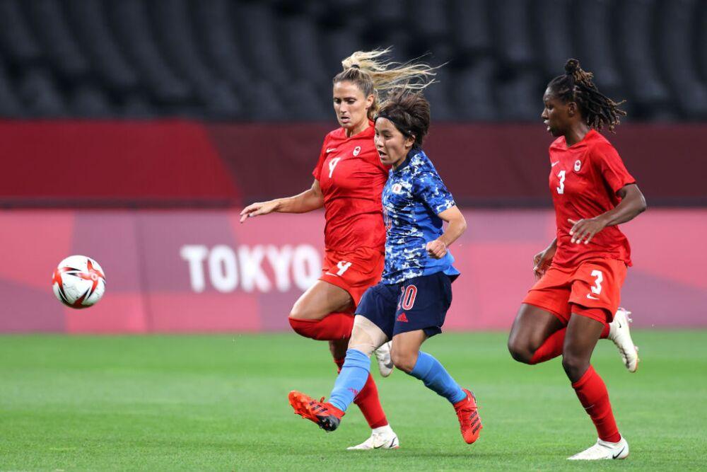 Japan v Canada: Women's Football - Olympics: Day -2