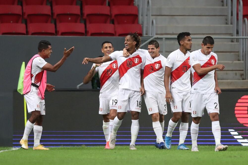 Gol de Perú contra Venezuela