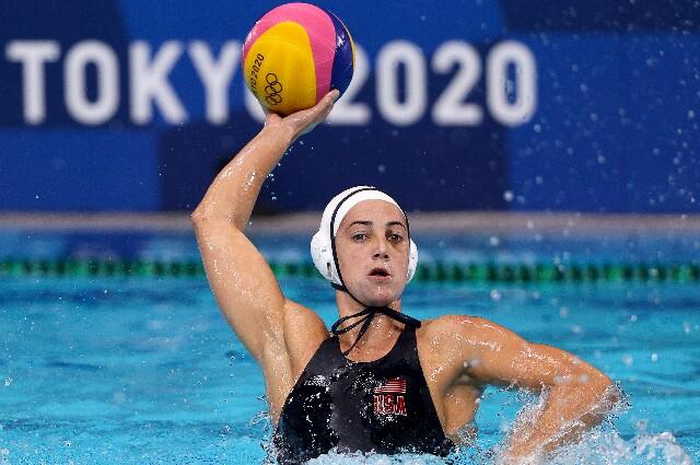 Maggie Steffens, en los Juegos Olímpicos de Tokio 2020