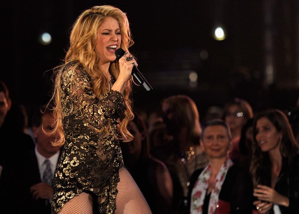 9376_La Kalle - Video de Shakira bailando - Foto: AFP