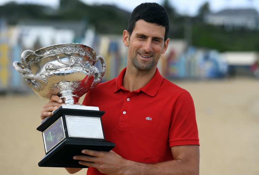 Novak Djokovic llegó a 311 semanas como número uno del mundo.